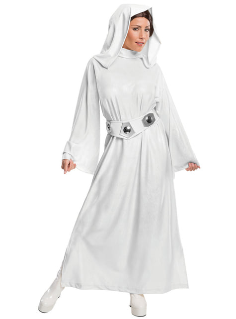 Déguisement Princesse Leia femme deluxe