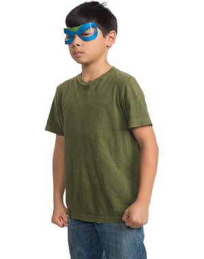 Детска маска за костенурки на нинджа Леонардо