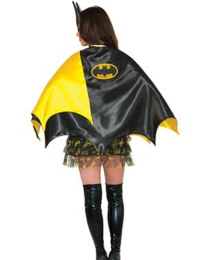 Cape Batgirl deluxe voor vrouw