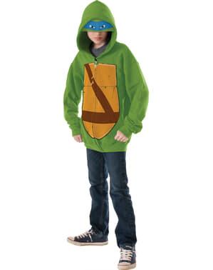 Casaco de Leonardo As Tartarugas Ninja infantil