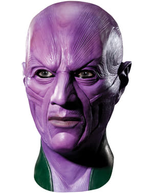 Máscara de Abin Sur Lanterna Verde deluxe para homem