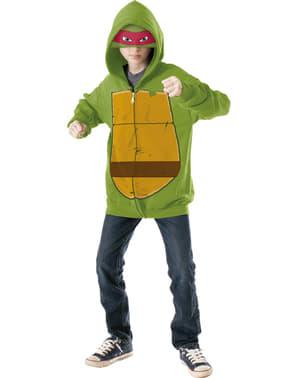 Casaco de Raphael Tartarugas Ninja para menino