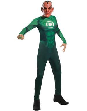 Fato de Sinestro Lanterna Verde para homem