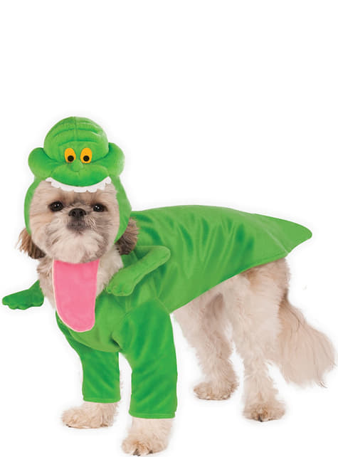 Dog's Slimer Ghostbusters Costume