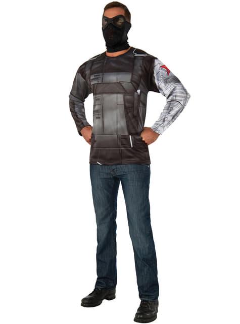 Kit fato de Soldado do Inverno, Capitão América: Guerra Civil para homem