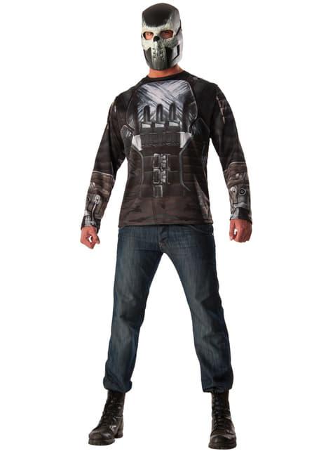 Kit disfraz de Crossbones Capitán América Civil War para hombre