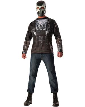 ערכת תלבושות מלחמת האזרחים באמריקה קפטן והעצמות של גברים