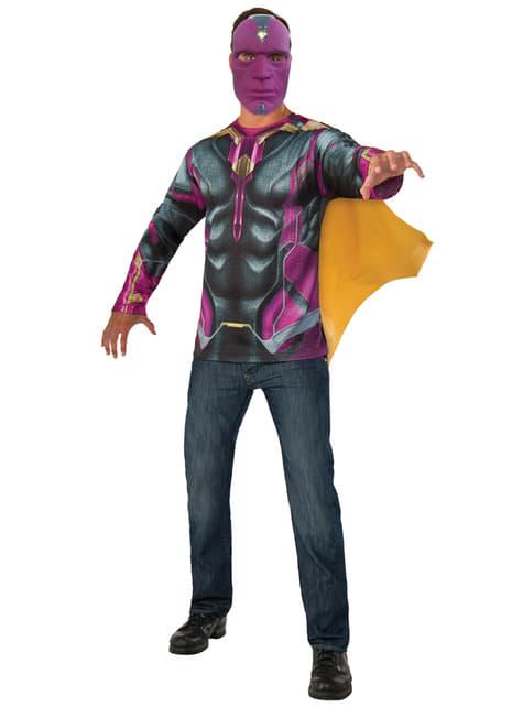 Kit disfraz de Vision Capitán América Civil War para hombre