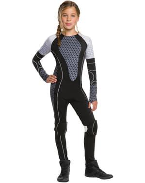 Costume da Katniss Everdeen Hunger Games La ragazza di fuoco per bambina