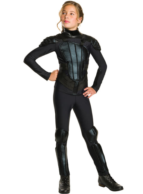 Girl's Katniss Everdeen The Hunger Games: Mockingjay Costume