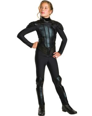Costume da Katniss Everdeen Hunger Games Il canto della rivolta per bambina