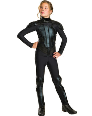 The Hunger Games: Mockingjay Katniss Everdeen kostume til piger