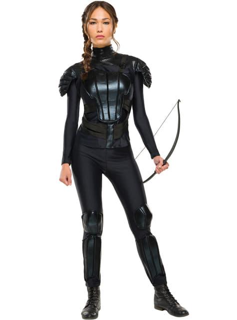 Katniss Everdeen The Hunger Games Mockingjay Kostuum voor vrouw