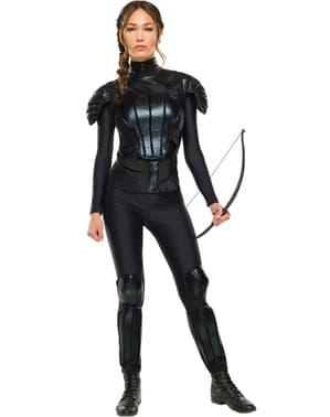 Costume da Katniss Everdeen Hunger Games Il canto della rivolta per donna