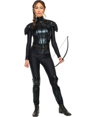Maskeraddräkt Katniss Everdeen The Hunger Games Mockingjay dam