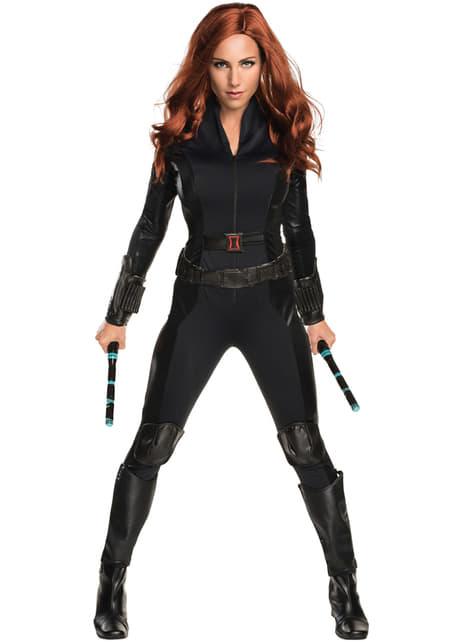 Naisten Captain America Civil War – Musta Leski -asu