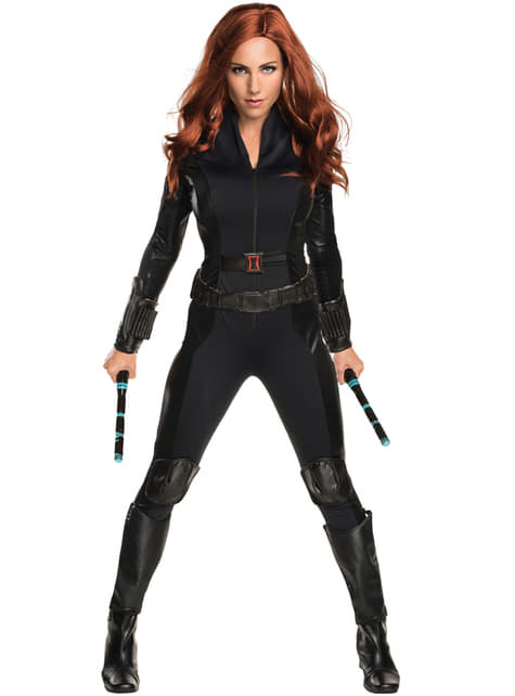 Women's Black Widow Captain America Civil War Costume
