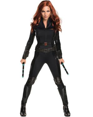 Svart Enke Captain America Borgerkrig Kostyme Dame