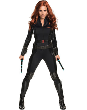Ženska črna vdova Captain America Državljanska vojna noša
