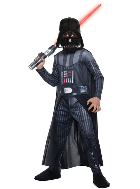 Fato de Darth Vader, Star Wars para menino