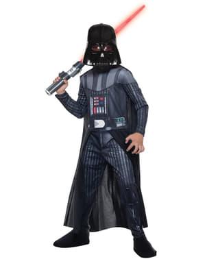 תלבושות מלחמת הכוכבים דארת ויידר של Boy