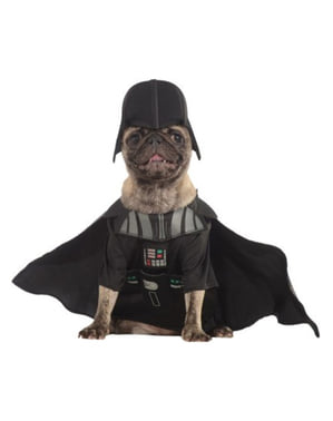 Dog's Darth Vader Costume
