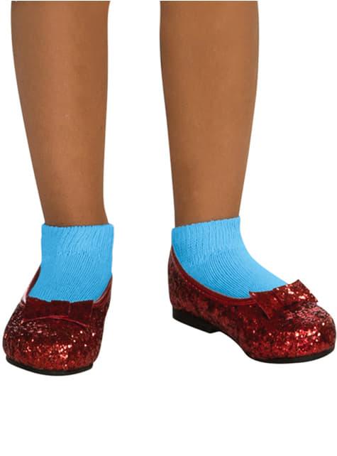 Zapatos de Dorothy deluxe para niña
