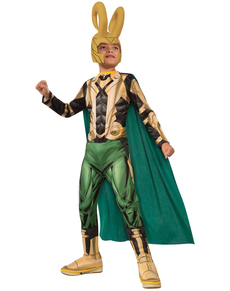 Boyu0027s Loki The Avengers Classic Costume  sc 1 st  Funidelia & Costumes: Ideas for your costume. 24-hour delivery | Funidelia