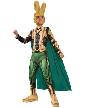 Maskeraddräkt Loki The Avengers för barn