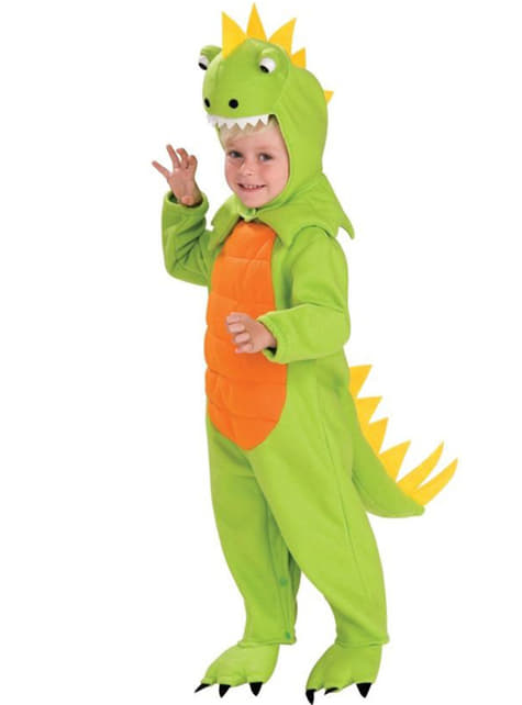 Disfarce de dinossauro infantil