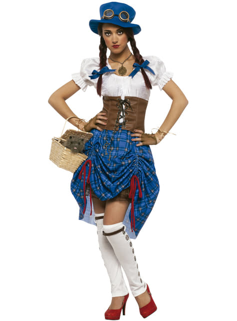 Women's Steampunk Dorothy Costume