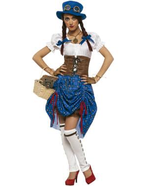 Fato de Dorothy steampunk para mulher