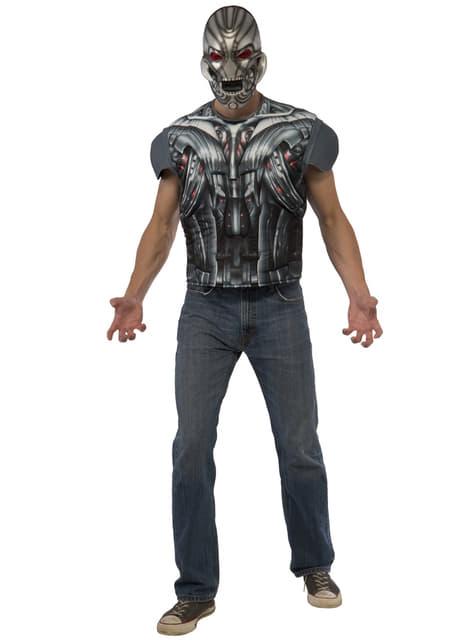 Kit disfraz de Ultron musculoso para hombre