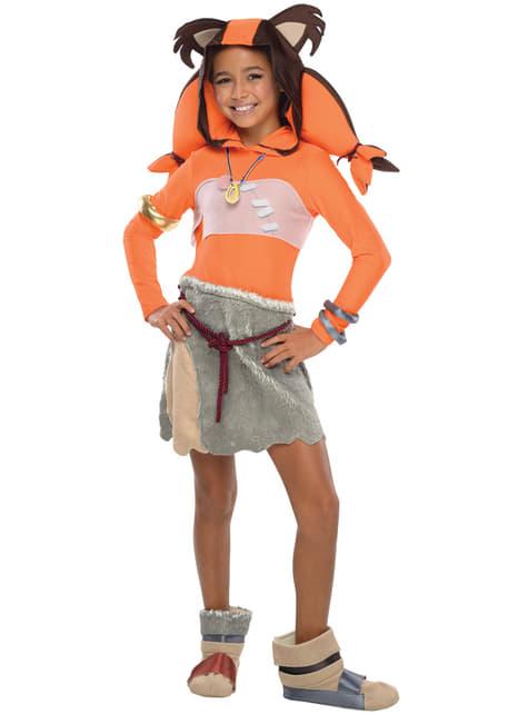 Girl's Sticks Sonic Costume