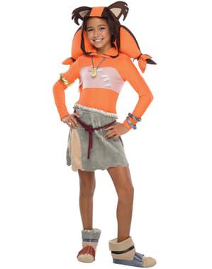 Disfraz de Sticks Sonic para niña