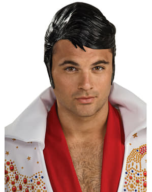 Men's Rubber Elvis Wig