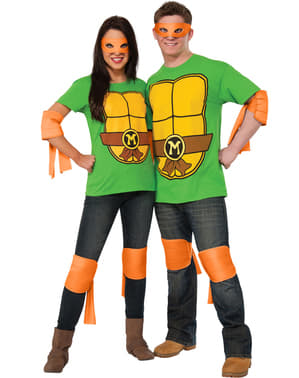 Kompletteringsset Michelangelo Ninja Turtles vuxen