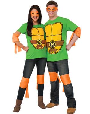Zestaw dodatków Michelangelo Wojownicze Żółwie Ninja męski