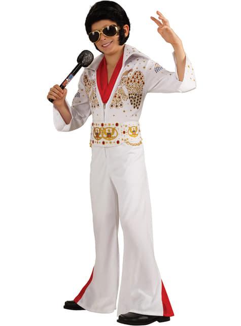 Elvis deluxe Kostuum voor jongens
