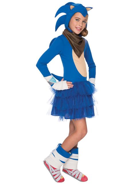 Fato de Sonic para menina
