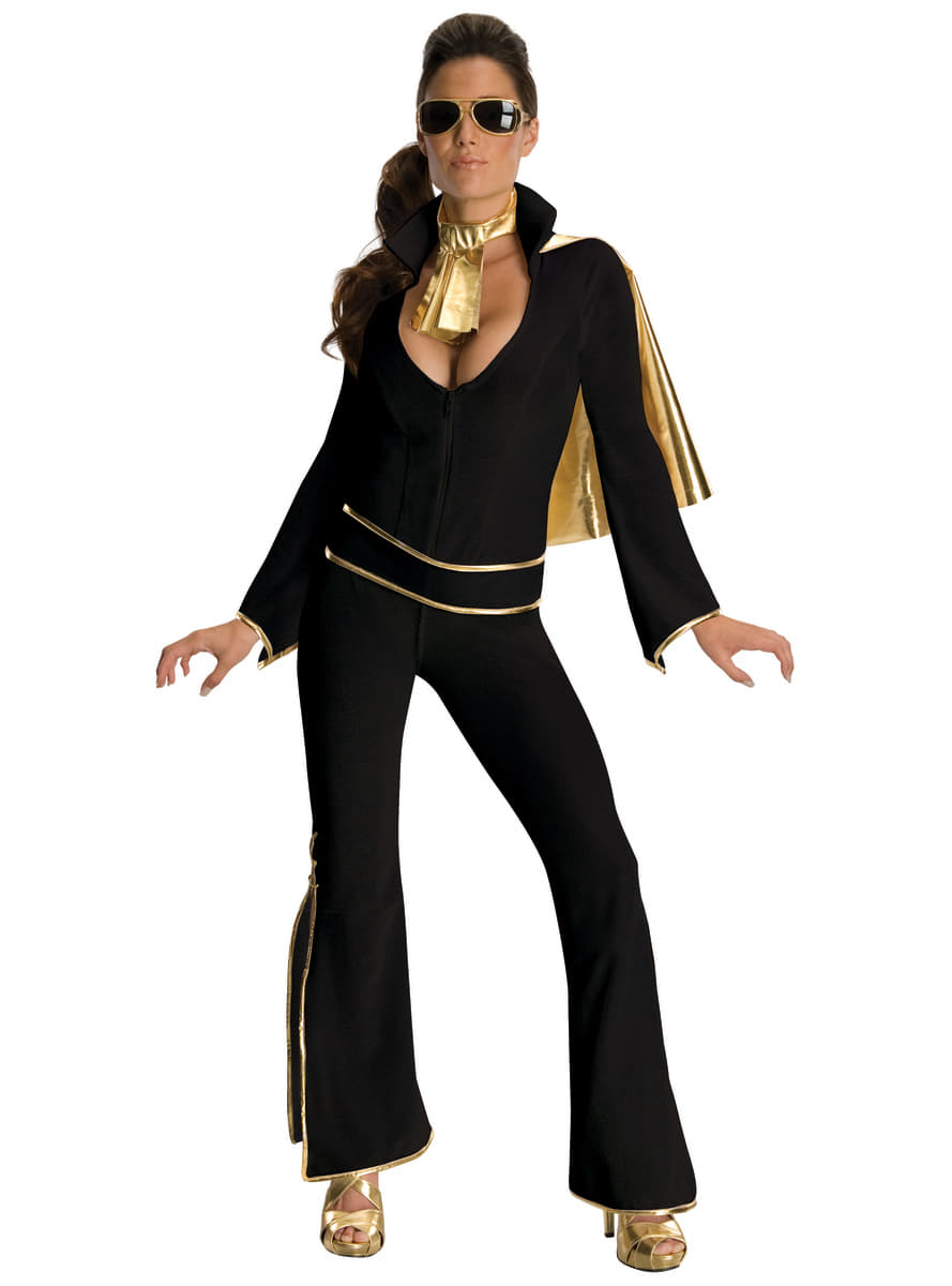 womens sexy elvis costume