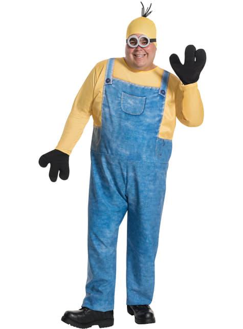Disfraz de Minion Kevin para adulto talla grande