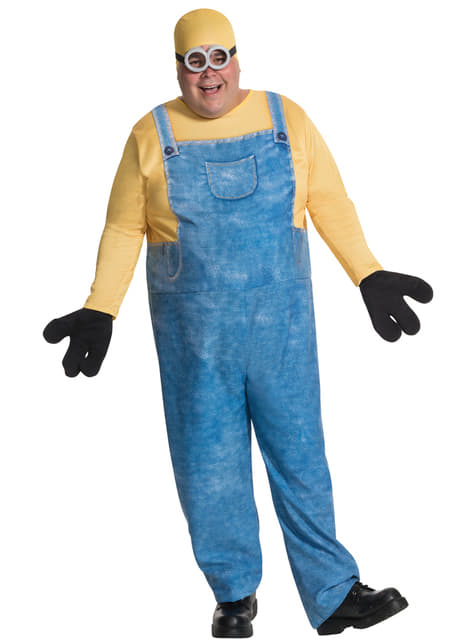 Men's Plus Size Bob Minion Costume