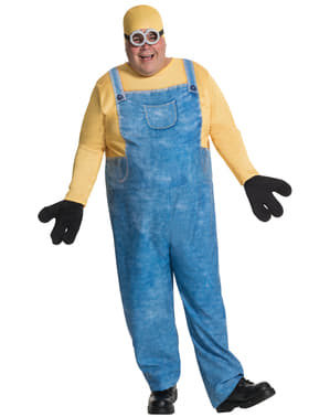 Costume da Minion Bob per uomo taglie forti