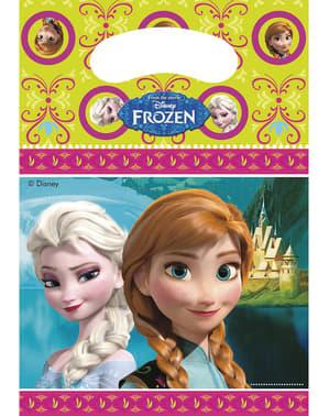 Sett med 6 Frozen Poser