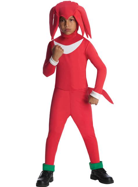 Disfraz de Knuckles Sonic para niño