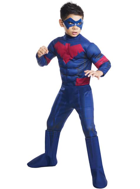 Disfraz de Nightwing DC Comics para niño