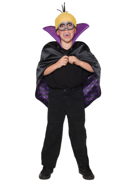 Kids Dracula Minion Costume Kit