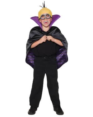 Kit costume da Minion Dracula infantile