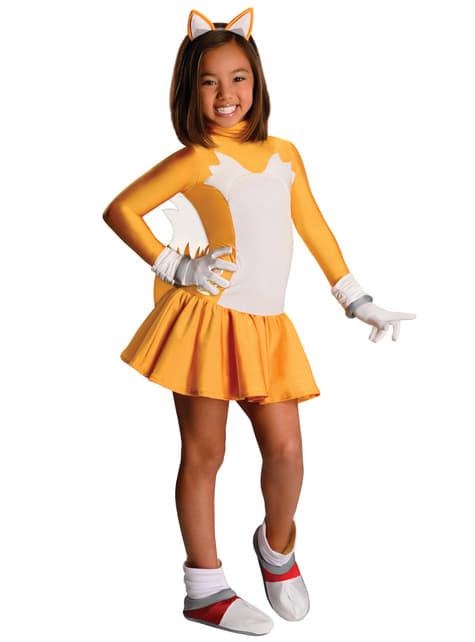 Costume da Tails Sonic per bambina